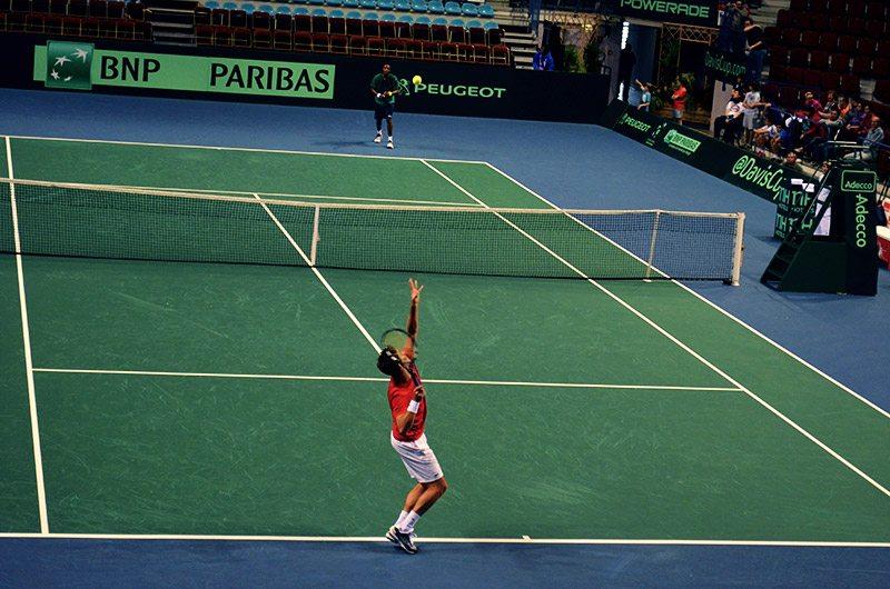 L'APSEM a soutenu l'équipe de France durant la Coupe Davis