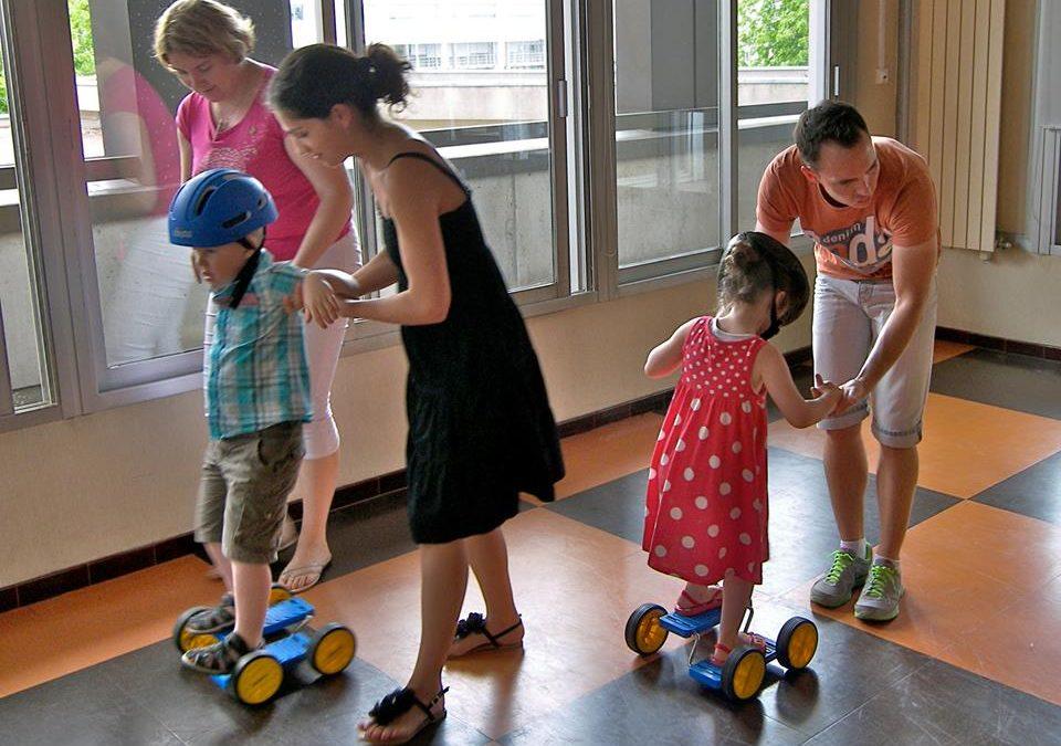Des activités d'équilibre pour les enfants diabétiques